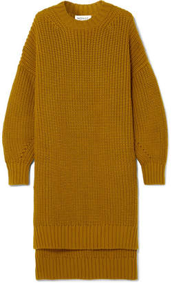 Monse Oversized Wool Sweater - Camel