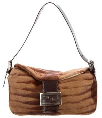 d5198ef40f49 Pre-Owned at TheRealReal · Fendi Ponyhair Flap Bag
