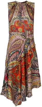 Etro Abito freccia printed dress