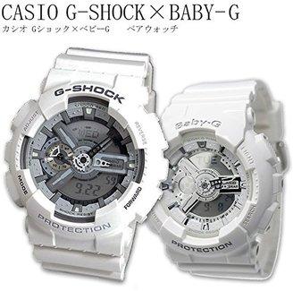 カシオ CASIO G-SHOCK BABY-G ペアウォッチ GA110C-7A BA-110-7A3