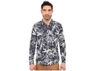 7 Diamonds Night Garden Long Sleeve Shirt Men's Long Sleeve Button Up