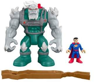 Mattel Imaginext Dc Super Friends Doomsday & Superman