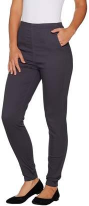 Denim & Co. Regular Color Pull-on Stretch Denim Leggings
