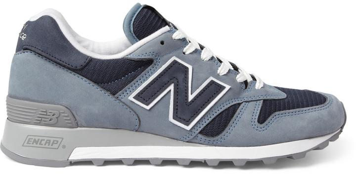 New Balance 1300 Nubuck and Mesh Sneakers