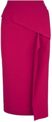 Roland Mouret Clarendon Draped Pencil Skirt