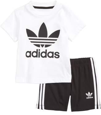 adidas Graphic T-Shirt & Shorts Set