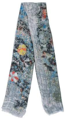 Yigal Azrouel Woven Abstract Print Scarf