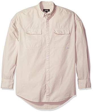 Zanerobe Men's Patch Rugger Ls Shirt