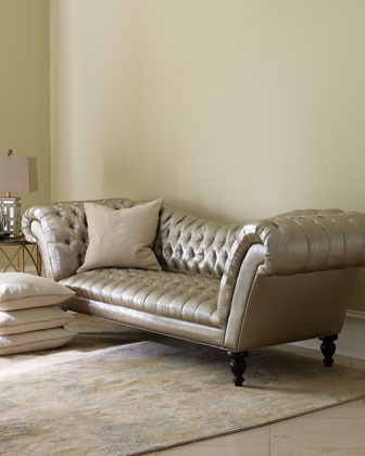 Old Hickory Tannery Silver Recamier