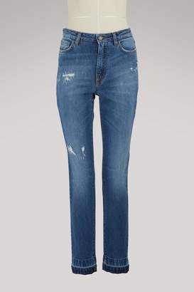 Dolce & Gabbana Heart skinny jeans