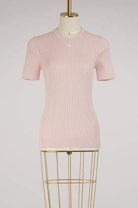 Courreges Short sleeves knit top