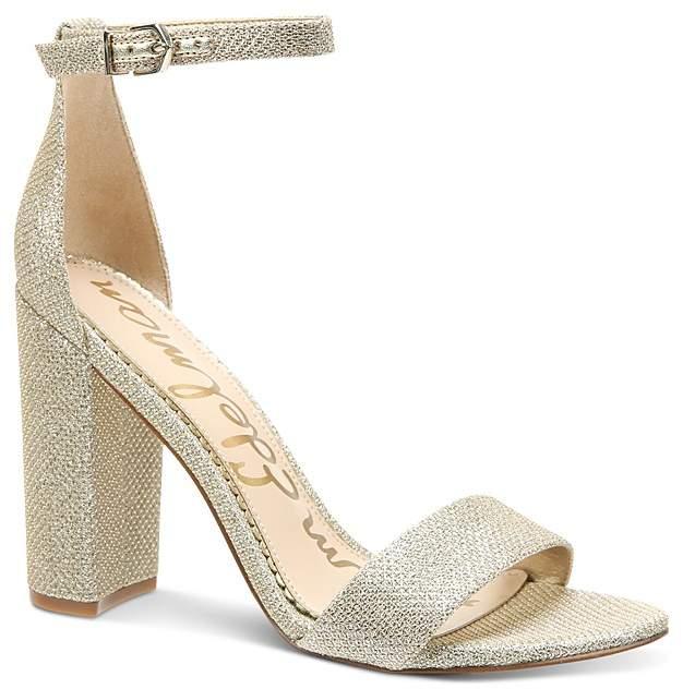 Sam Edelman Women's Yaro Glitter High Heel Sandals