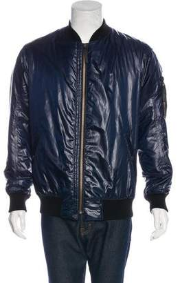 Helmut Lang Woven Bomber Jacket w/ Tags