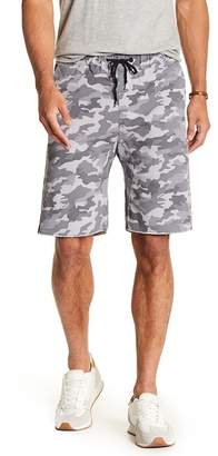 Public Opinion Patterned Jogger Shorts