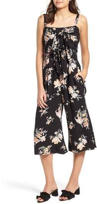 Somedays Lovin Hypnotic Blooms Crop Jumpsuit