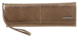 Gucci Metallic Lizard Wallet