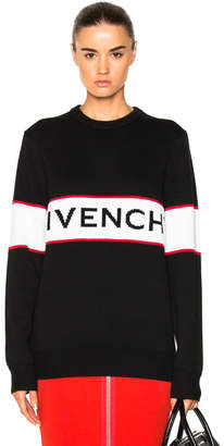 Givenchy Logo Knit Sweater