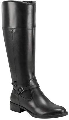 Easy Spirit Leigh Tall Leather Riding Boot - Wide Width Available