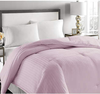 Royal Luxe Luxury Damask Stripe Feather & Down King Comforter