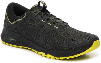 Asics Alpine XT Performance Running Shoe -Black/Yellow - Men's