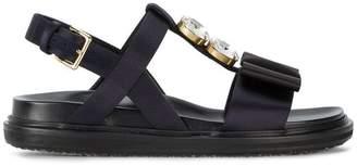 Marni Fussbett crystal embellished sandals