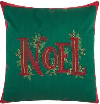 kohls kathy ireland christmas noel throw pillow