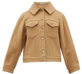 Palmer Harding Palmer//Harding Palmer//harding - Blended Cape Back Wool Blend Jacket - Womens - Camel