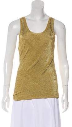 Michael Kors Metallic Sleeveless Tunic