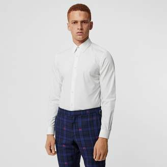 Burberry Slim Fit Cotton Poplin Shirt , Size: 15.5
