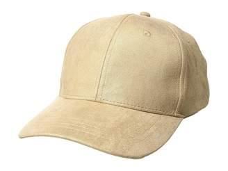 Collection XIIX Metallic Suede Baseball Hat Baseball Caps