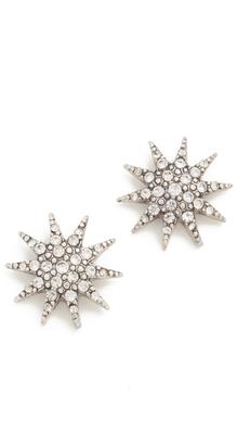 Lulu Frost Electra Stud Earrings $95 thestylecure.com