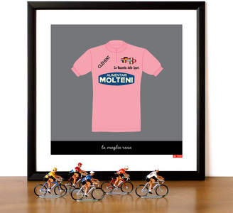 Gumo Eddy Merckx Pink Jersey Print
