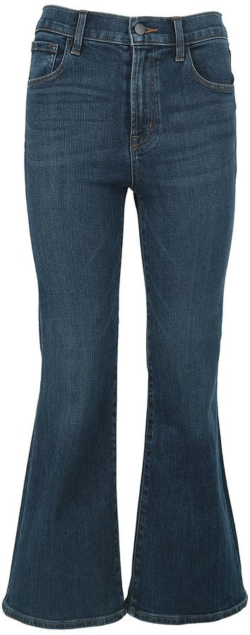 J BrandJ Brand Carolina Ankle-flare Cotton-denim Jeans