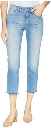 Mavi Jeans Niki High-Rise Crop Straight Leg in Shaded Women's Casual Pants