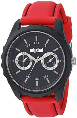 UNLISTED WATCHES Men's 'Sport' Quartz Metal and Silicone Dress