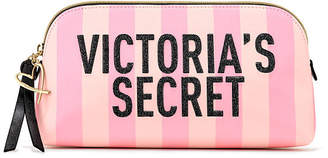 Victoria's Secret Victorias Secret Signature Stripe Beauty Bag