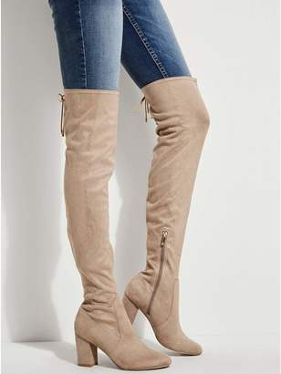 GUESS Women's Lacing Over-The-Knee Boots
