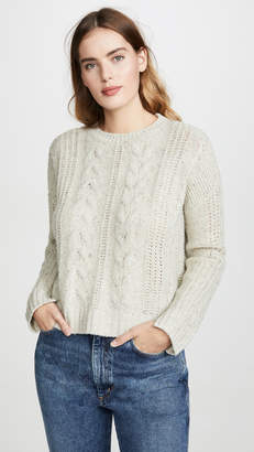 Habitual Clyde Cable Wool Sweater