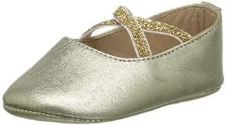 Elephantito Girls' Crossed Ballerina Baby Crib Shoe