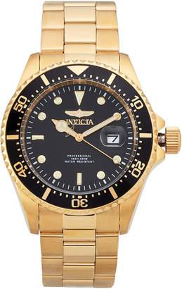 Invicta 22062 Gold-Tone & Black Pro Diver Watch
