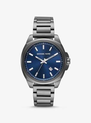 Michael Kors Bryson Gunmetal-Tone Watch