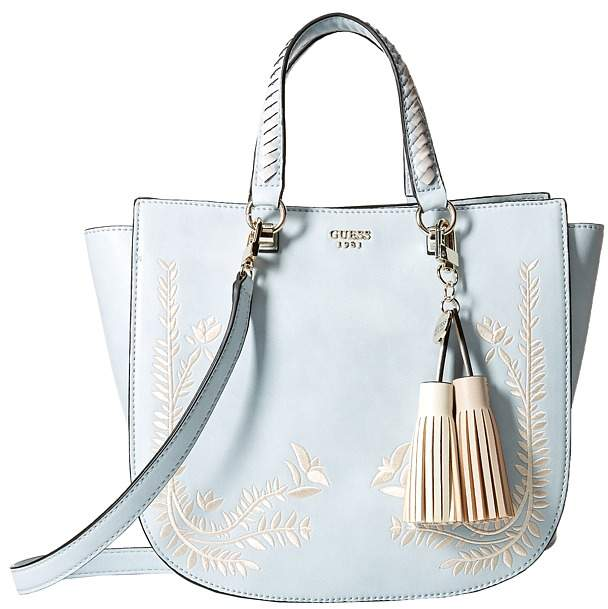 GUESS Nessa Satchel Satchel Handbags