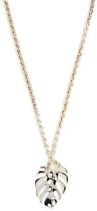 Lulu Frost Botanica Long Pendant Necklace $235 thestylecure.com