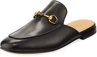 Gucci Kings Leather Horsebit Mule