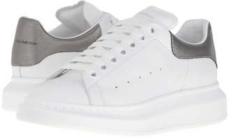 Alexander McQueen - Sneaker Pelle S.Gomm Women's Lace up casual Shoes $575 thestylecure.com