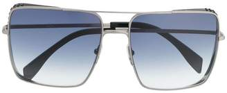 Moschino oversized square frame sunglasses