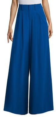 Alice + Olivia Eloise Straight Wide Leg Trousers $295 thestylecure.com