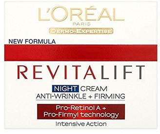 L'Oreal Revitalift Anti Wrinkle + Firming Night Cream (50ml) - Pack of 6