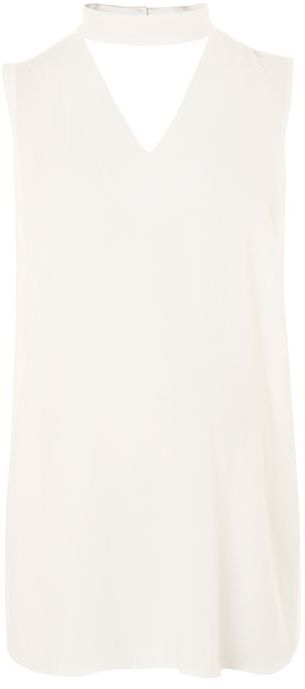 Topshop Topshop Maternity v-cut out blouse