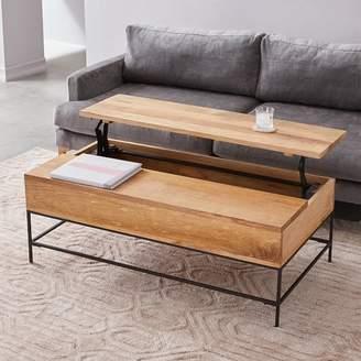 west elm Industrial Storage Pop-Up Coffee Table - Large